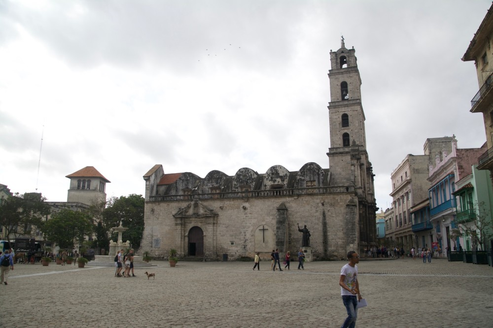 Plaza de San Francisco, Havana
