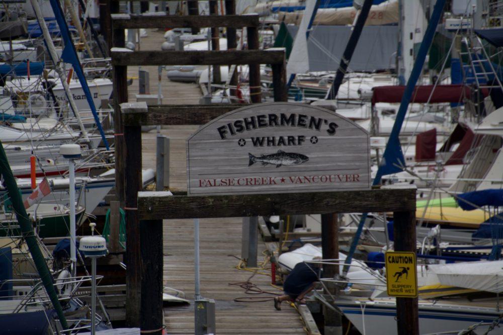 Fishermen's Warf, Vancouver