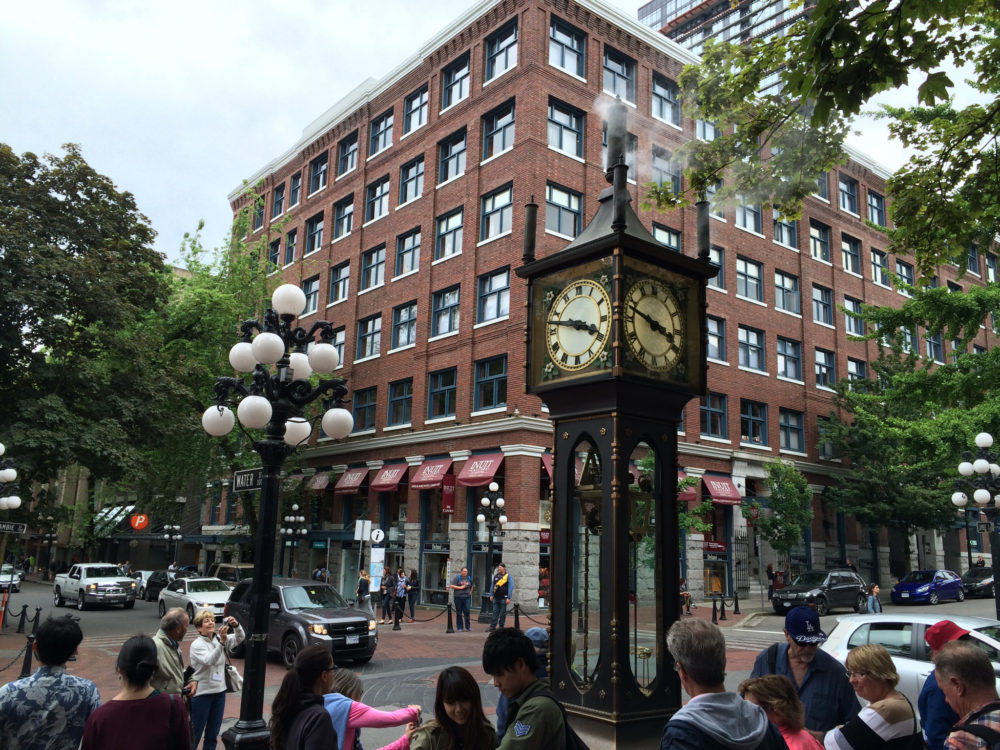 Steam Clock, Gastown, Vancouver