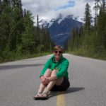 Marcella on the road, Canada