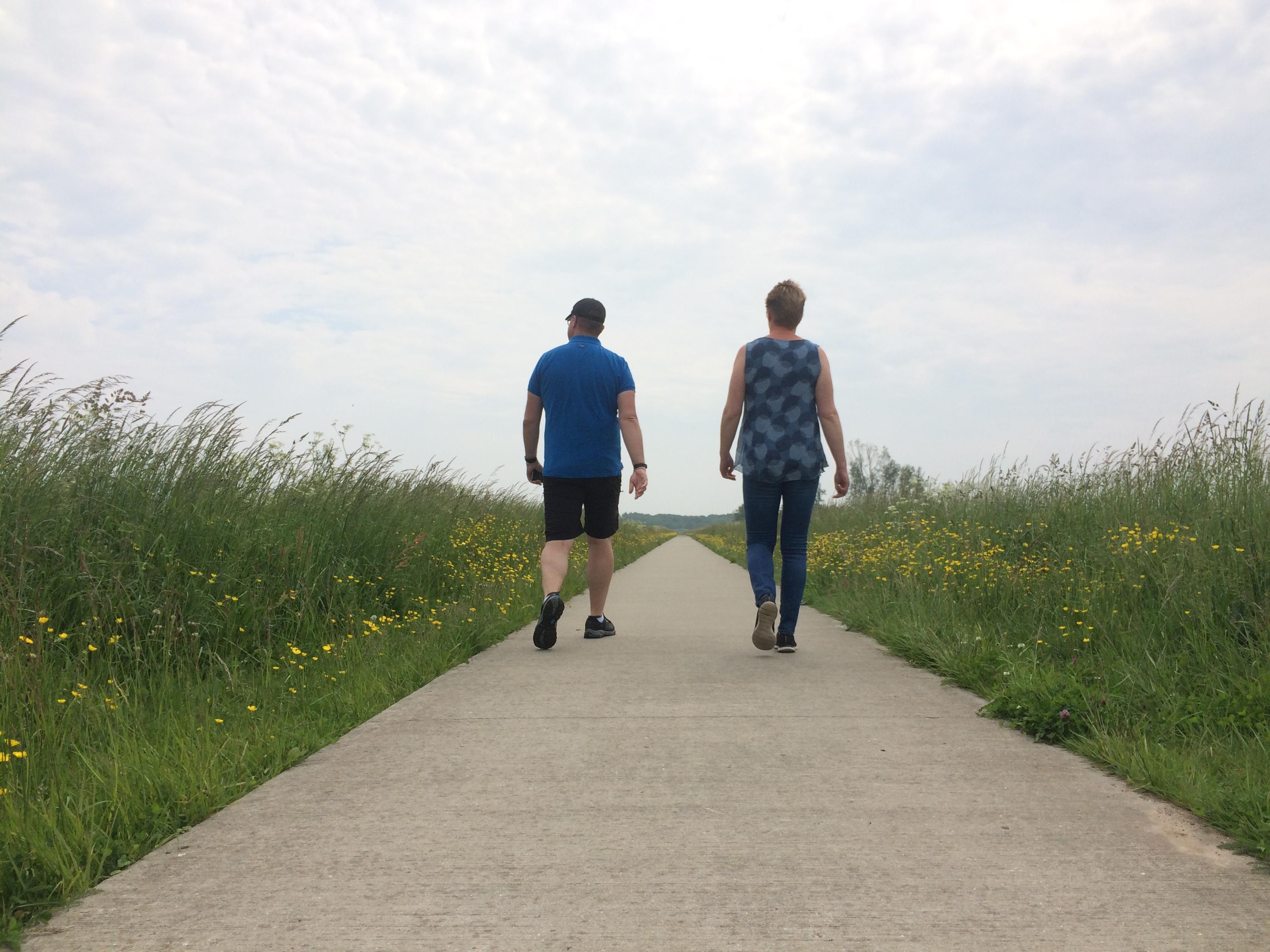 Wandelen in de Onlanden