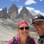 Jan en Marcella, Drei Zinnen, Südtirol