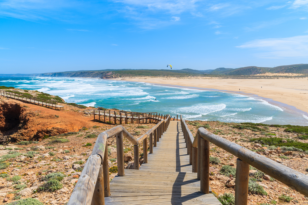 Shutterstock Praia do Bordeira beach