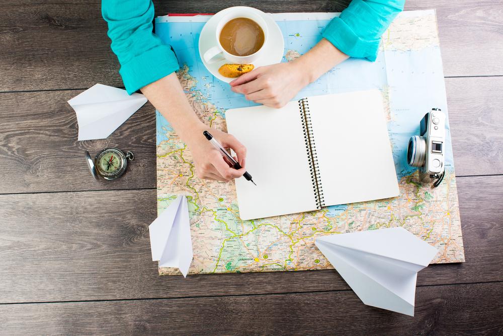 Shutterstock Travel planning