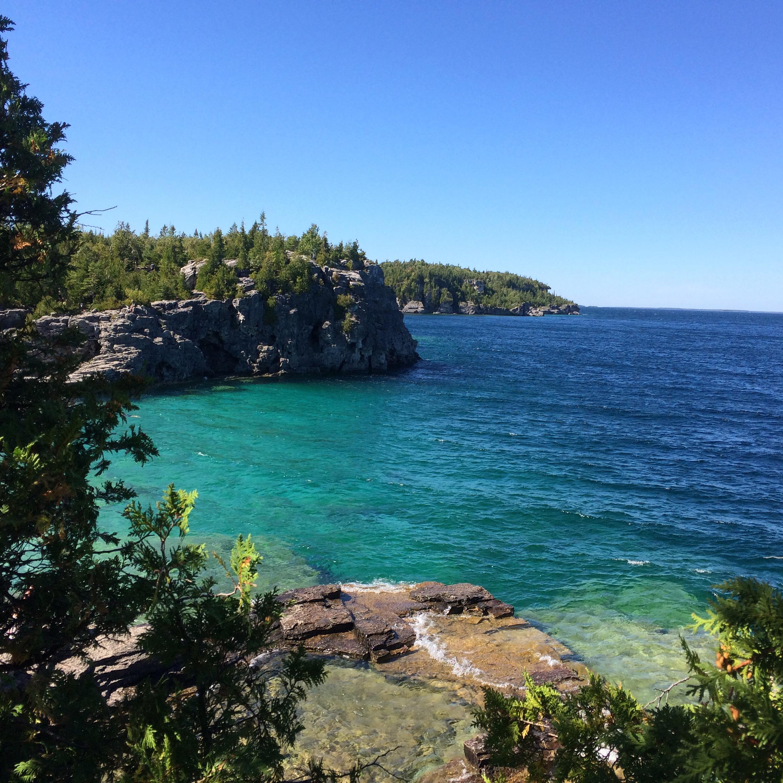 Grotto, Bruce Peninsula, Canada