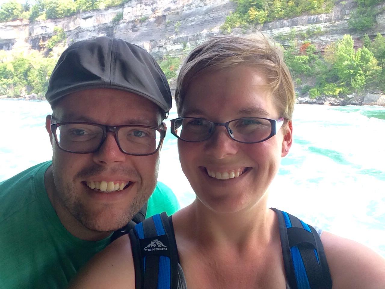 Jan en Marcella, Niagara River