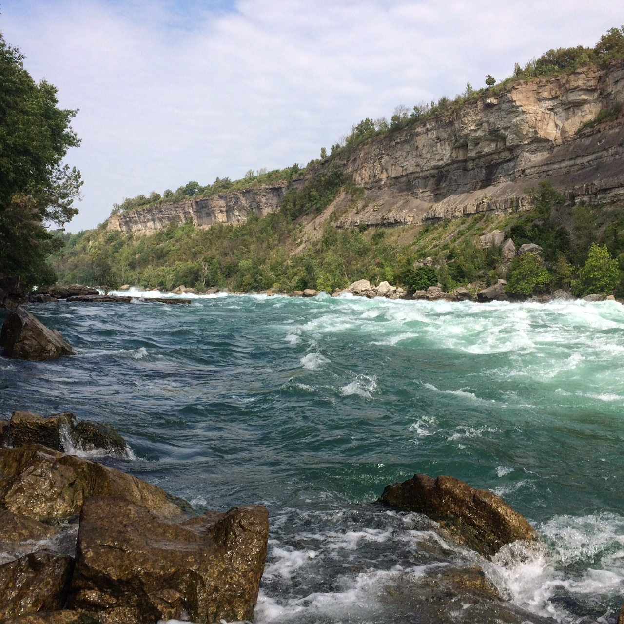 White Water Walk, Niagara River