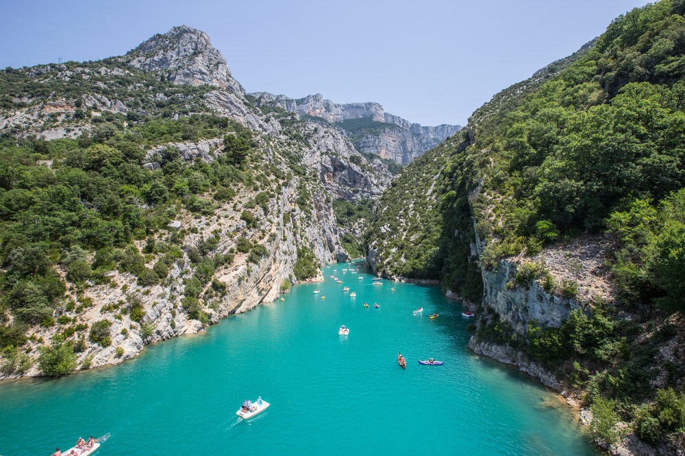 Shutterstock Gorge du Verdon, France