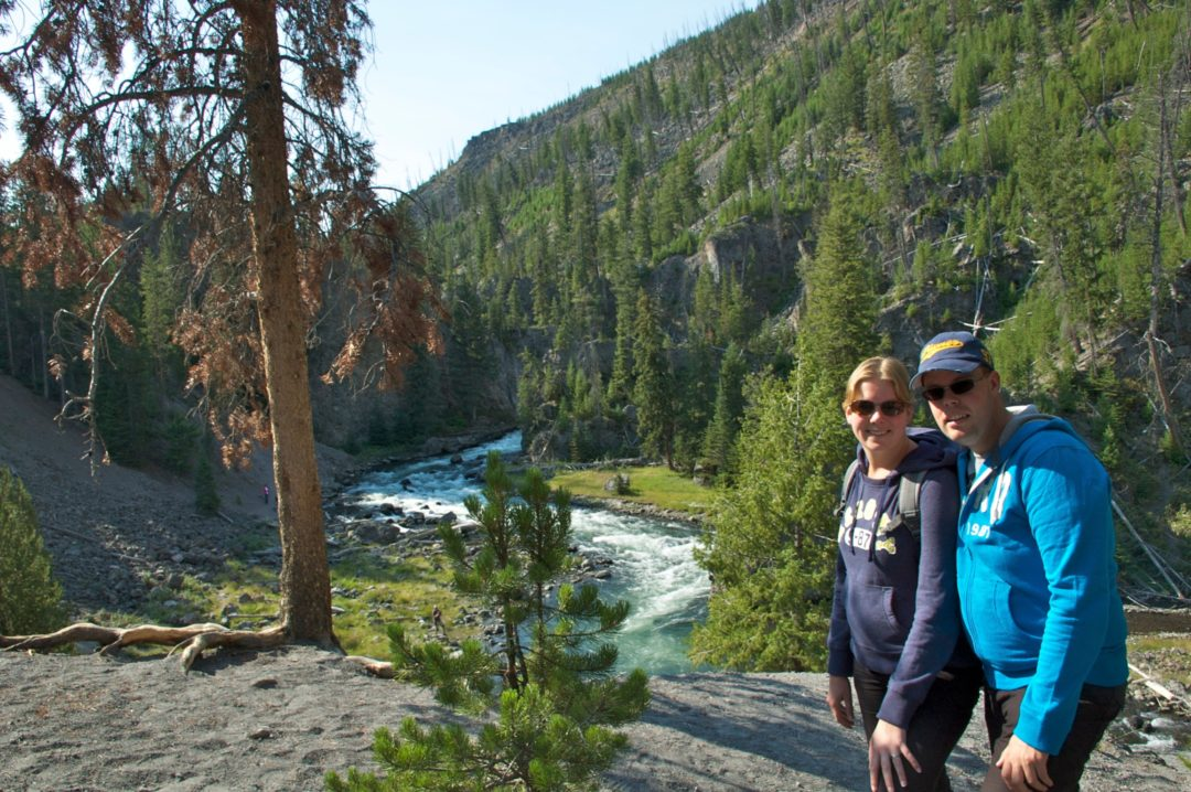 Jan en Marcella, Grand Canyon of Yellowstone