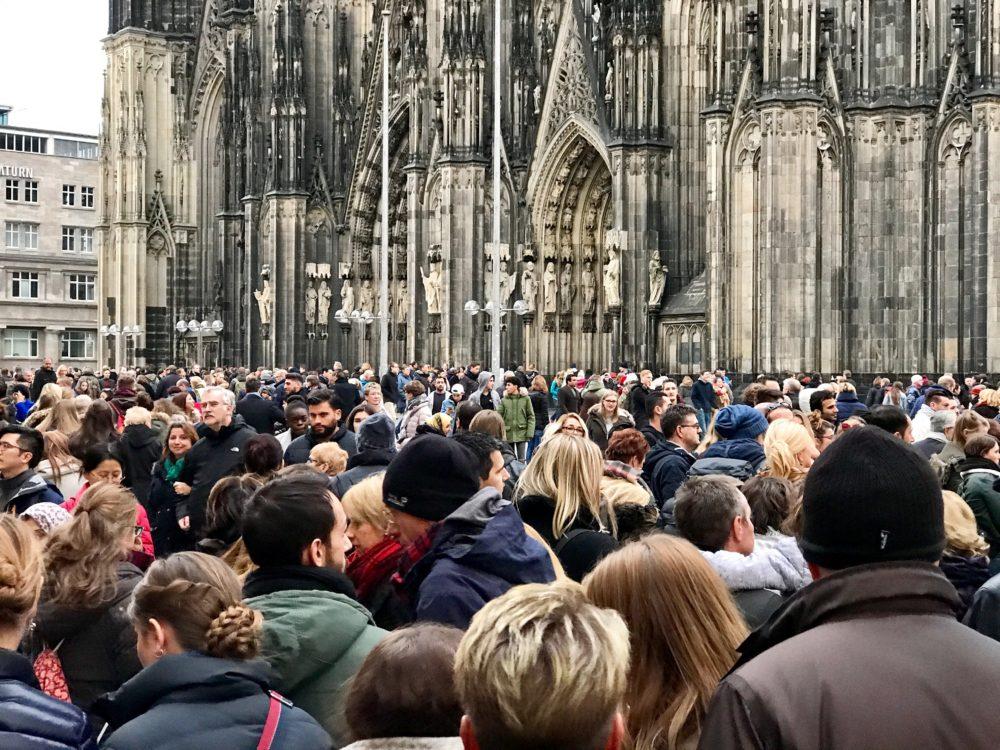 Plein voor de Dom in Keulen