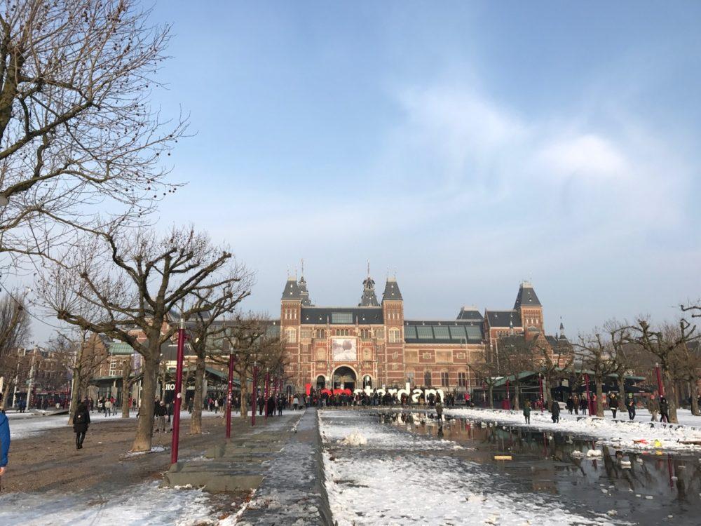 Museum plein, Amsterdam
