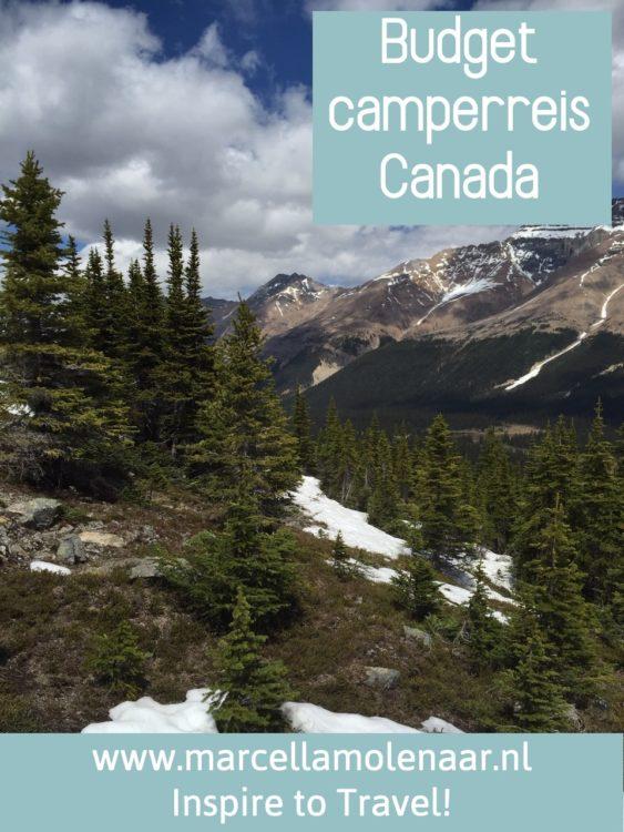 Budget camperreis Canada P