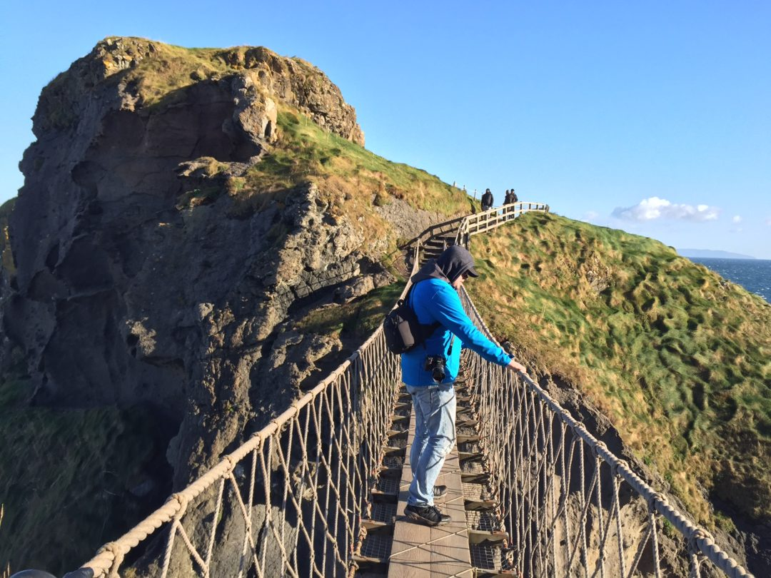 Jan, Carrick-a-rede, Northern Ireland