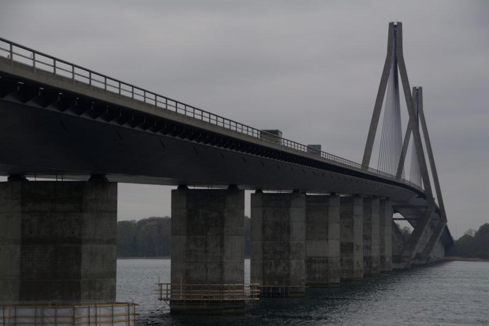 Faro bruggen, Møn, Denmark