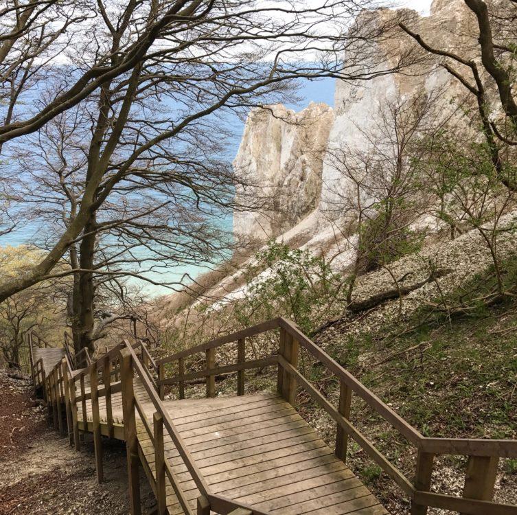 Stairs, Mons Klint, Denmark