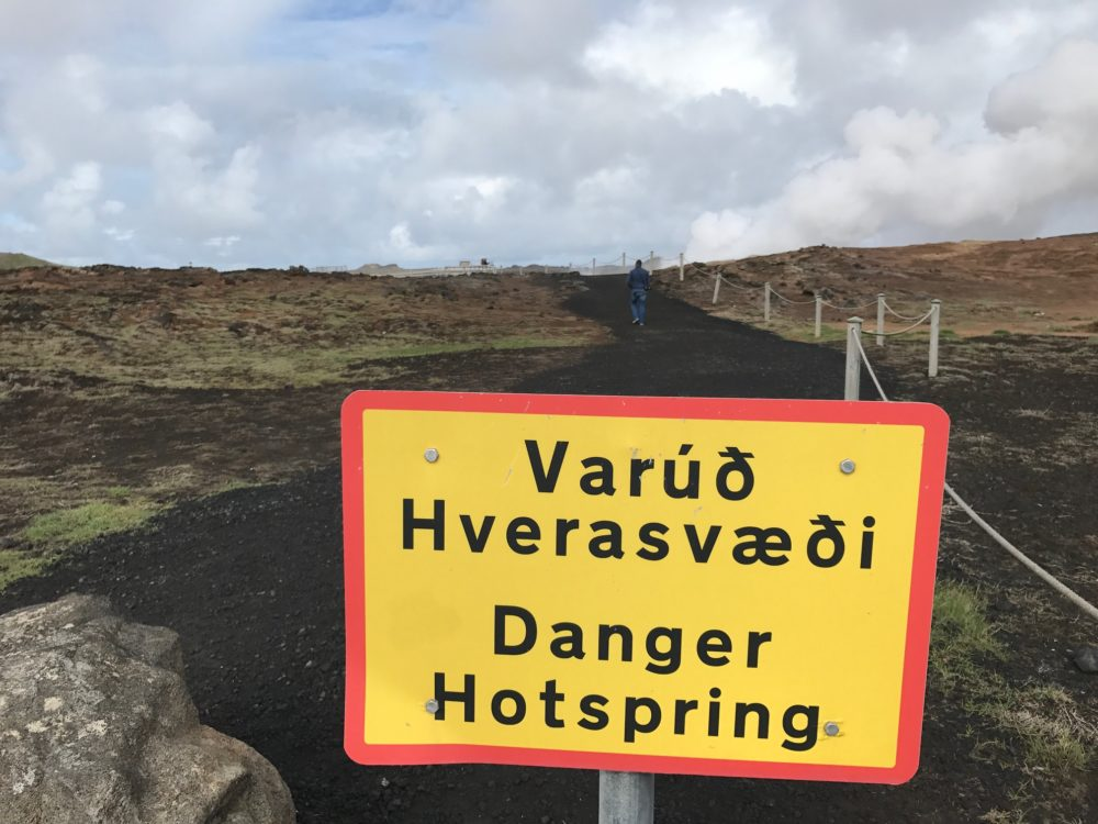 Gunnuhver, Iceland