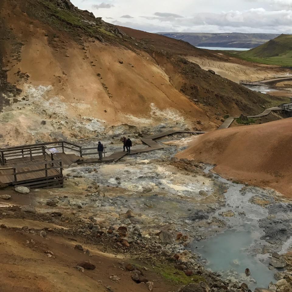 Krysuvik Seltun, Iceland