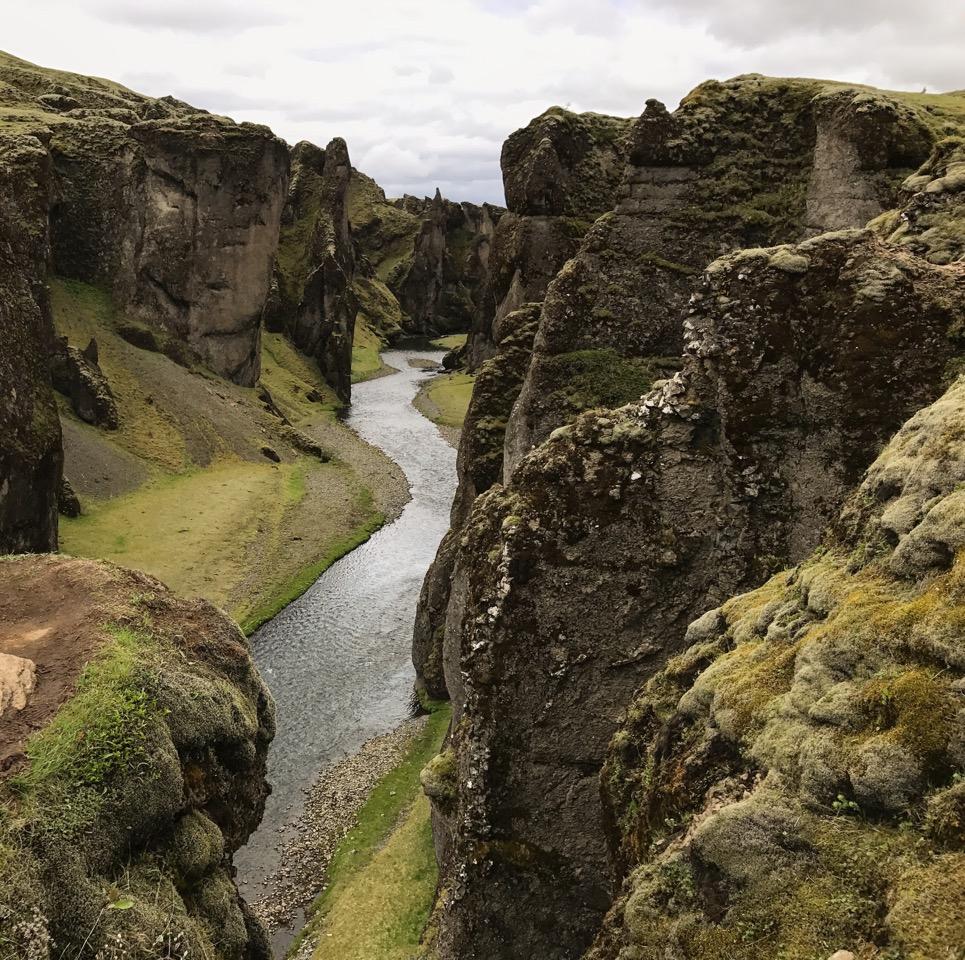 Fjadarglufur, Iceland