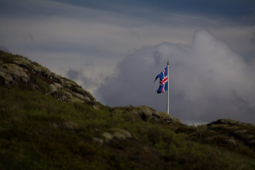 Flag Iceland
