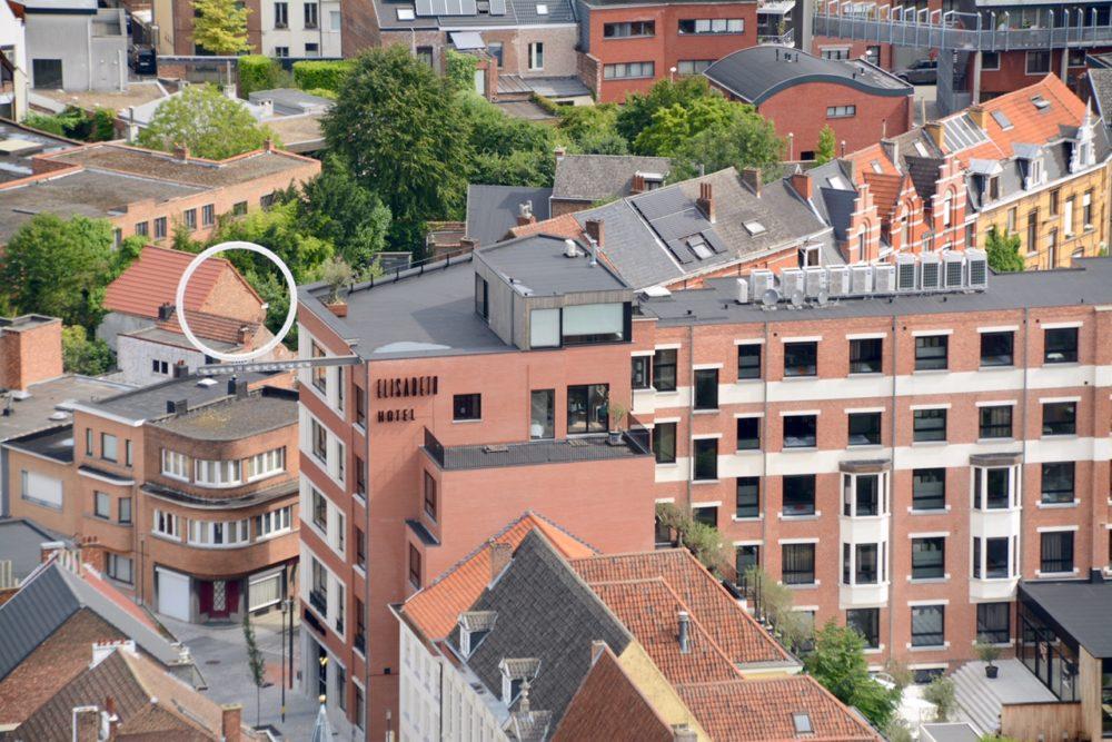 Mechelen, Hotel Elisabeth