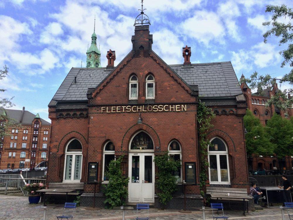 Fleetschlössen, Speicherstadt Hamburg