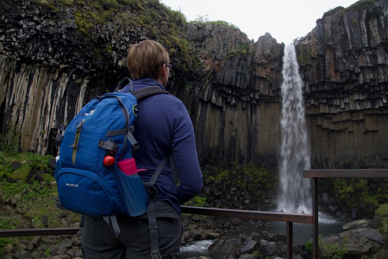 Skaftafell, Svartifoss Marcella, Iceland2