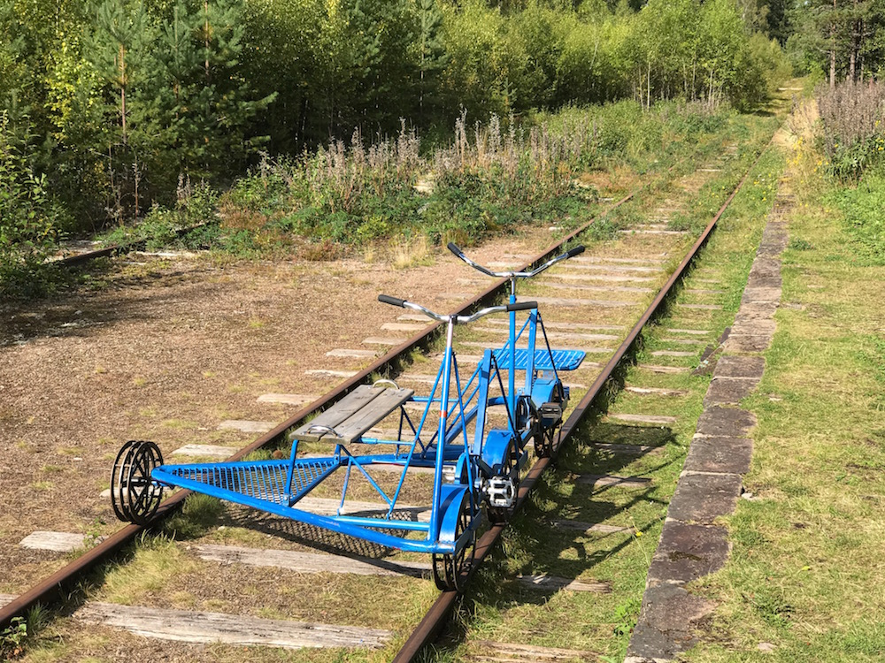 Railbike, Sweden