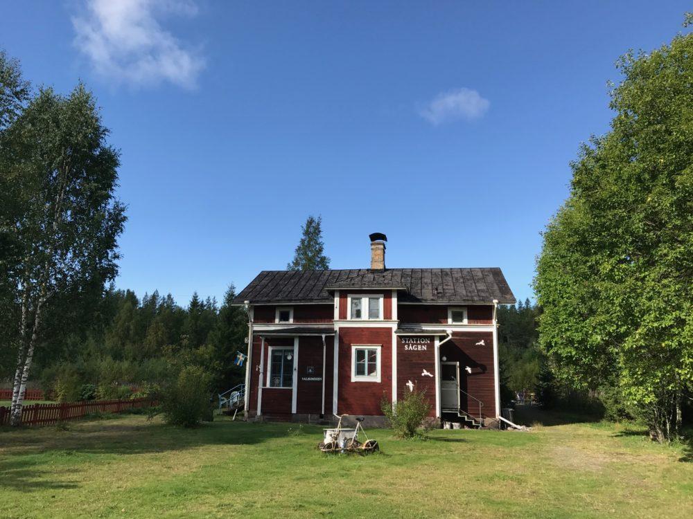Station Sagen, Sweden