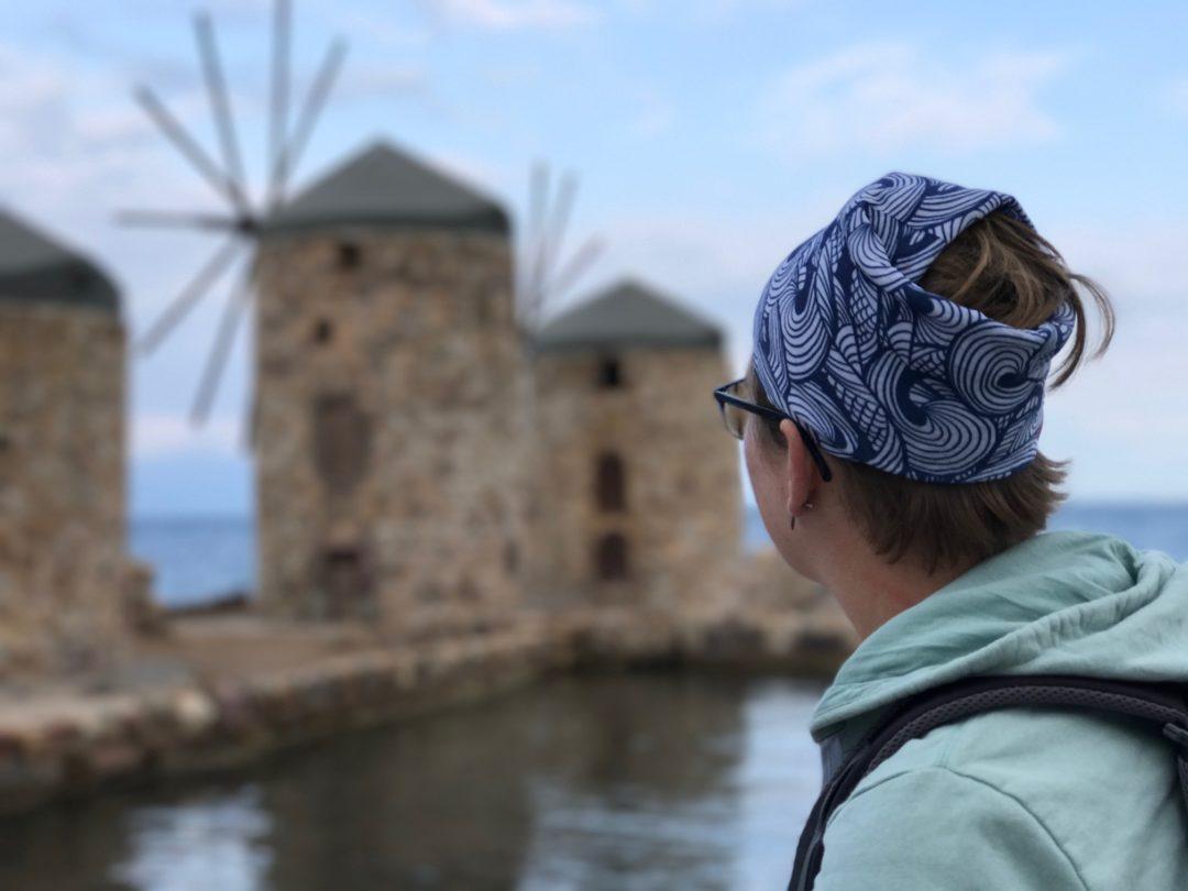 Marcella Windmill Greece