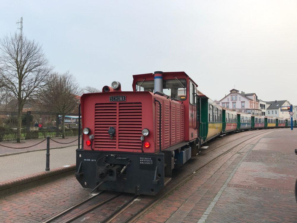 Borkum trein