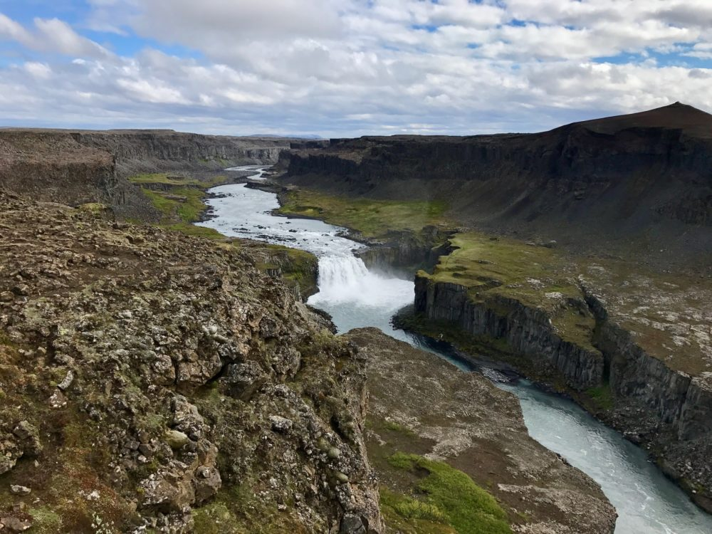 Hafragilsfoss Iceland