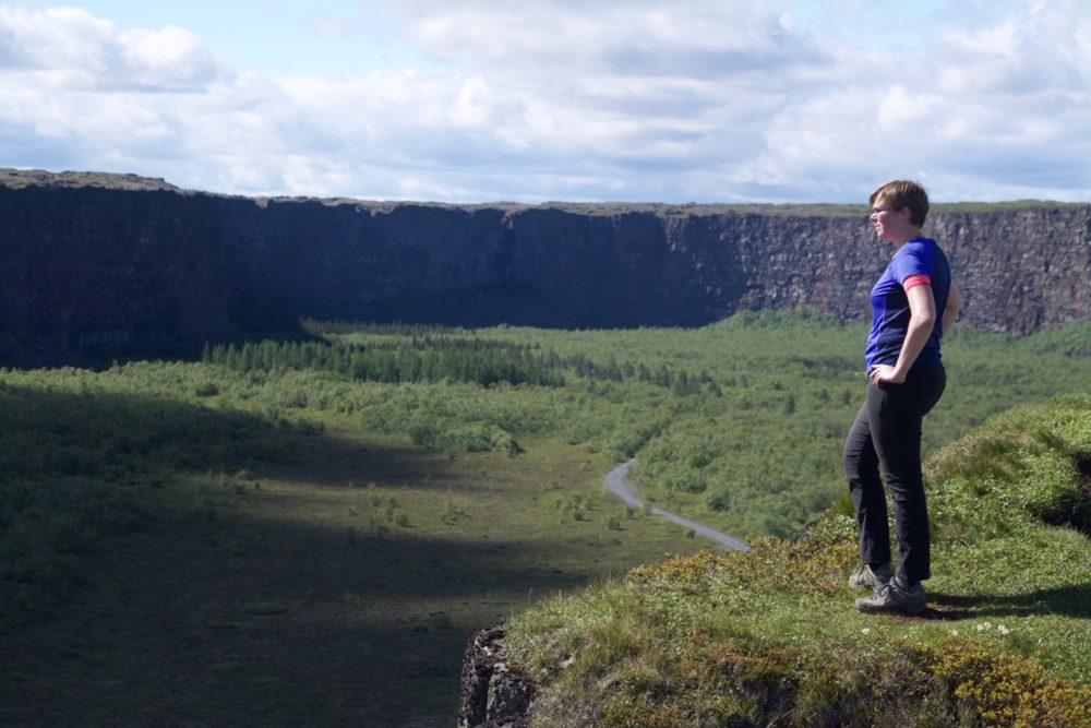 Marcella Ásbyrgi Iceland