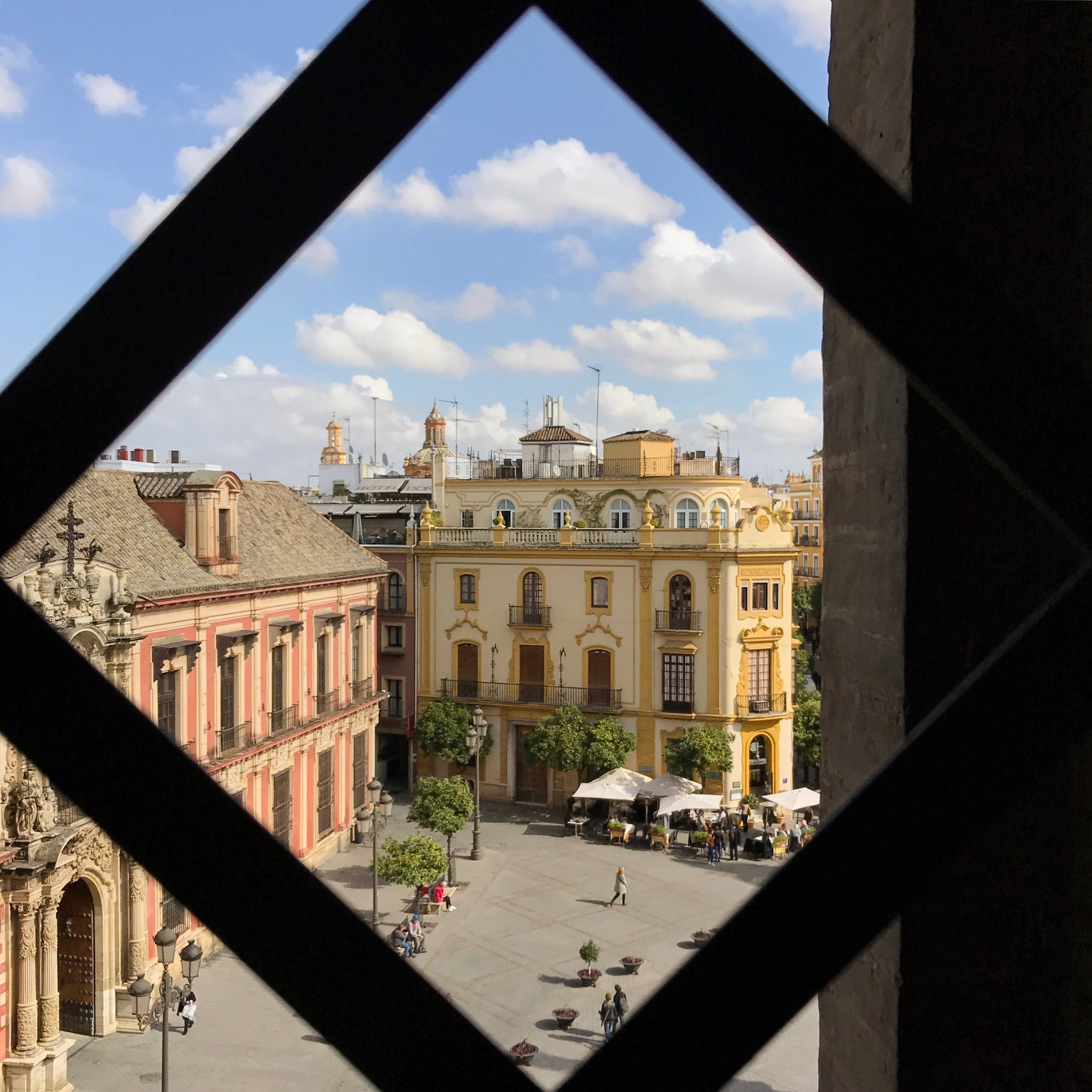 Sevilla Giralda toren uitzicht