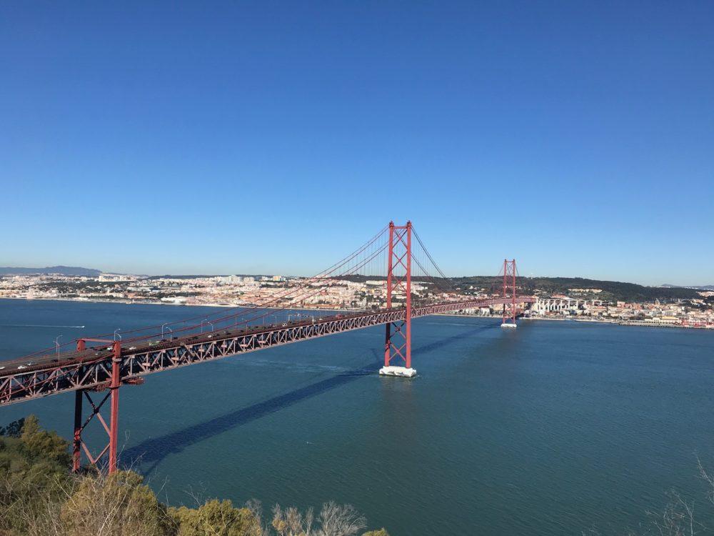 Ponte 25 de Abril Lisbon Portugal