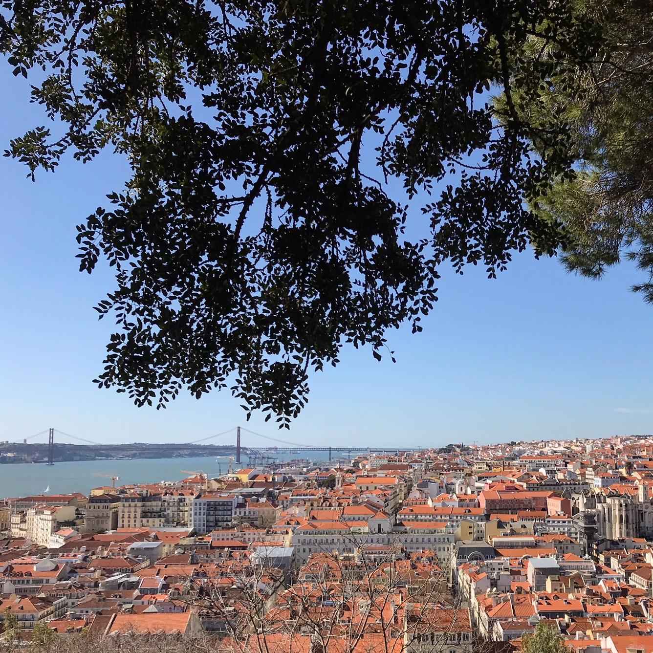 Sao de Jorge Lisbon Portugal