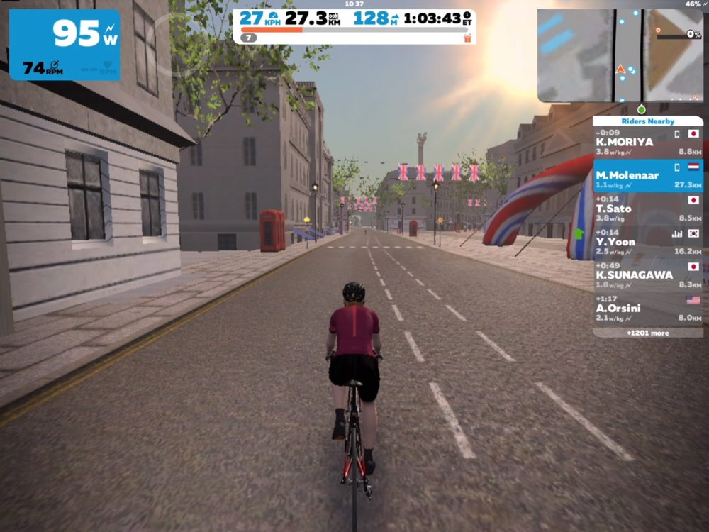 Zwift 29 januari 2018