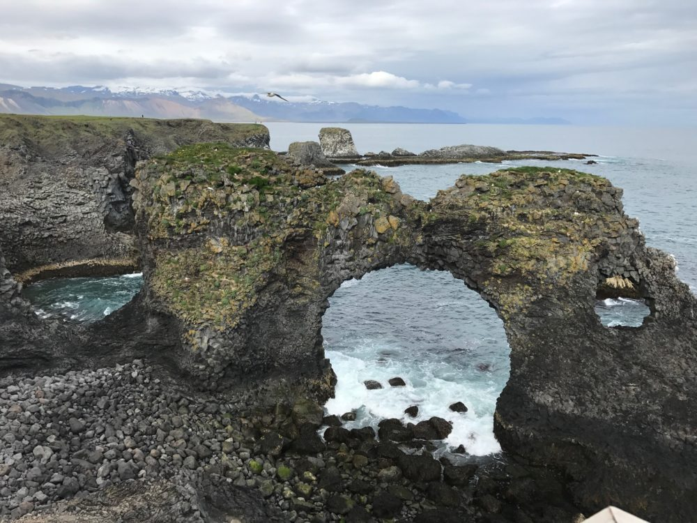 Gatklettur Iceland