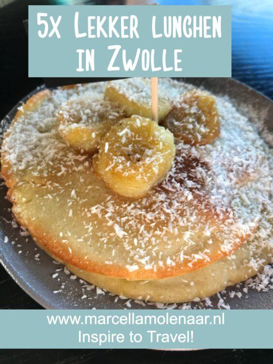 Lunchen in Zwolle