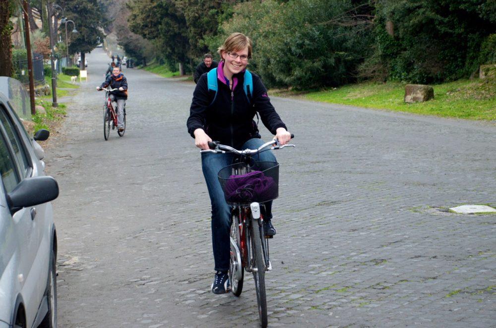 Rome op de fiets