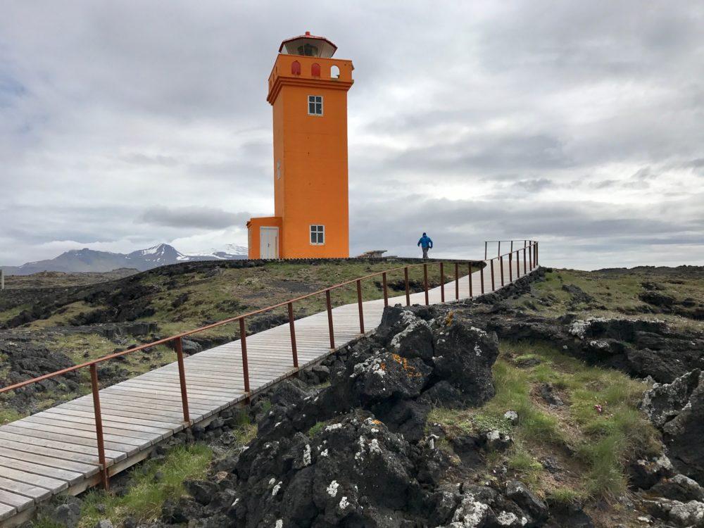 Skalasnagi Lighthouse Iceland