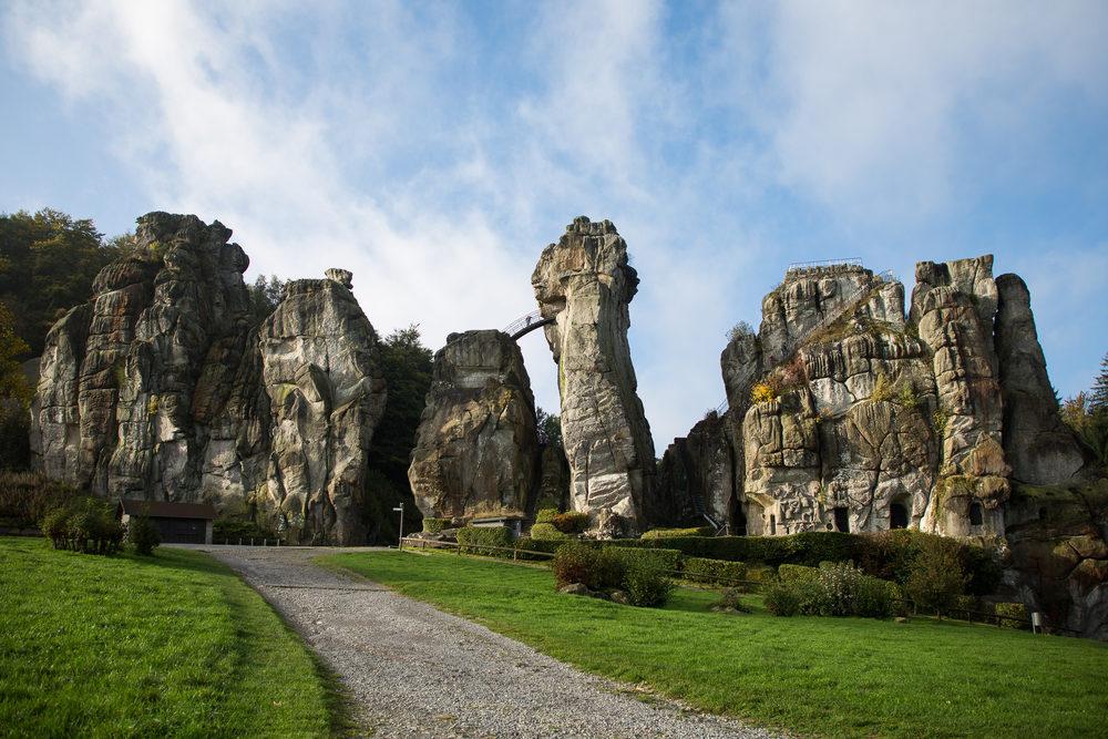 Externsteine Teutoburgerwald Germany