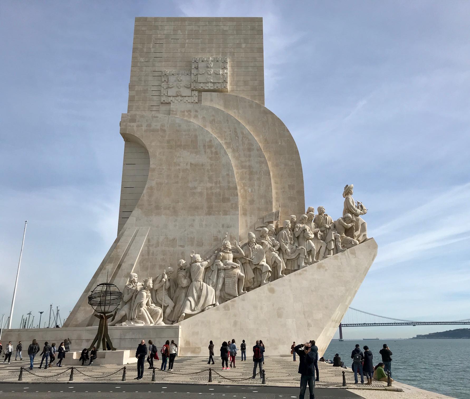 Padrão dos Descobrimentos Lisbon Portugal