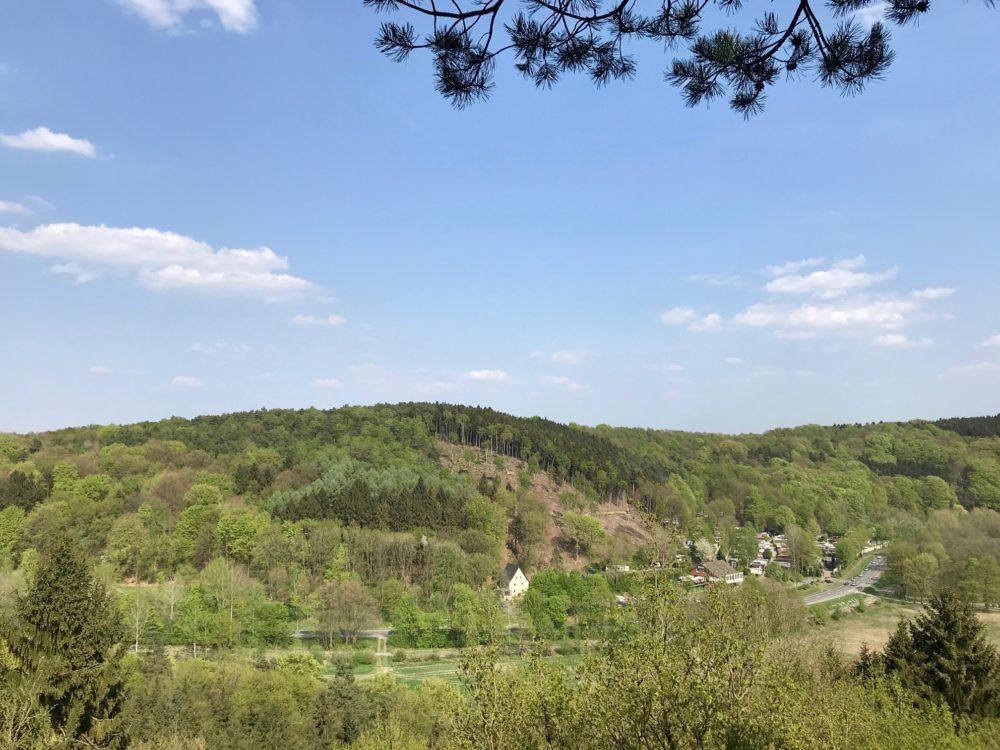 Dorenther Klippen Teutoburgerwald Germany