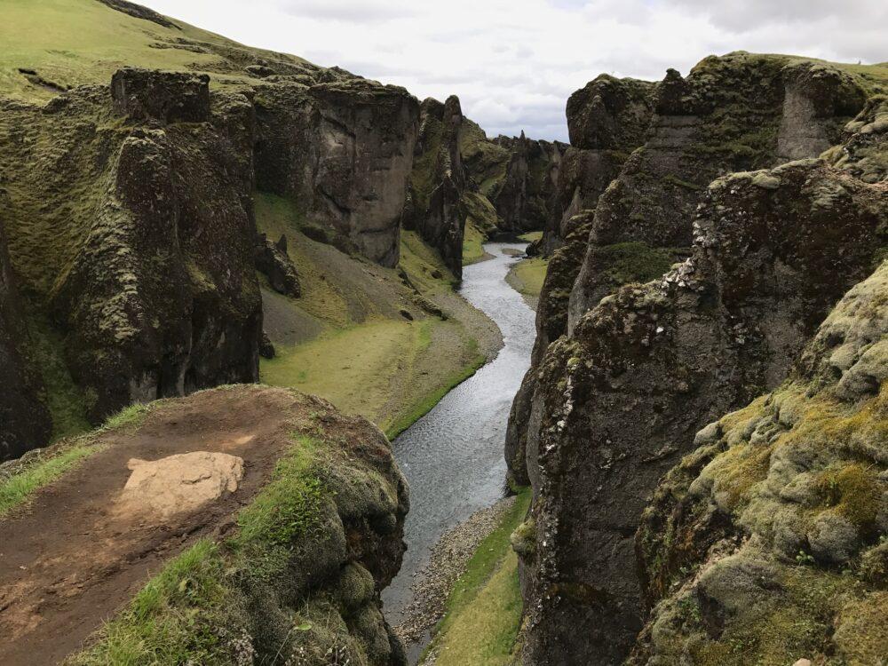 Fjadrargljufur Iceland