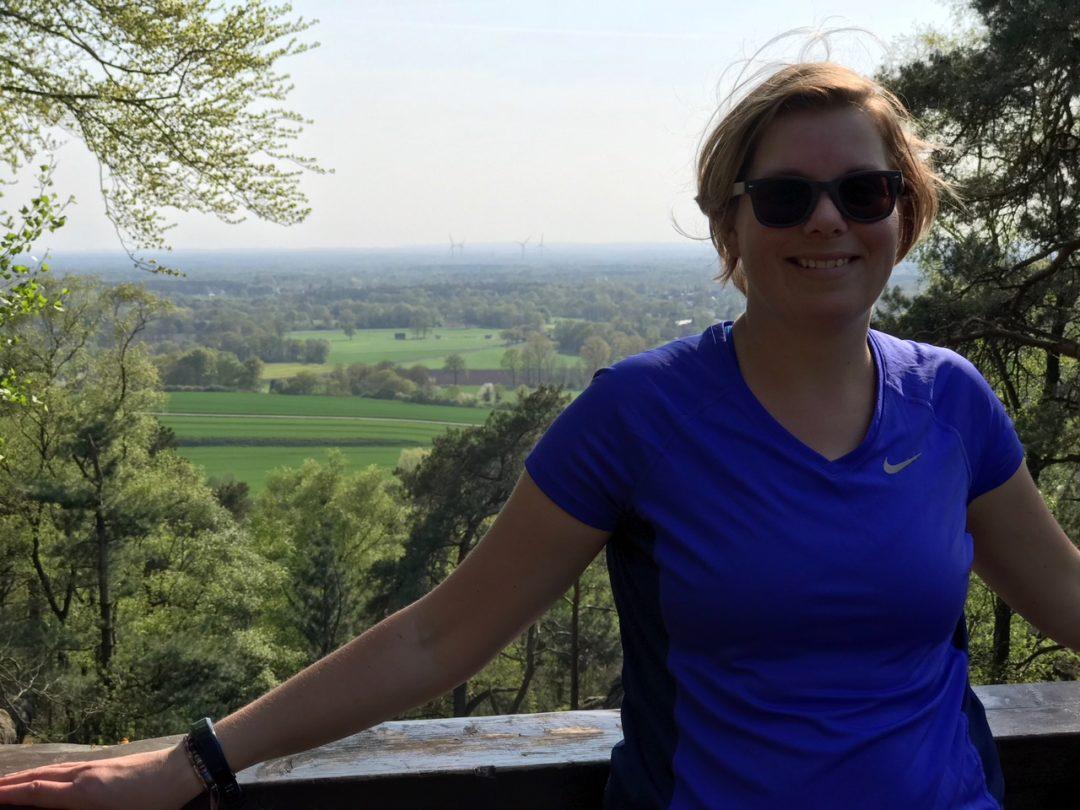 Marcella Dorenther klippen Teutoburgerwald Germany
