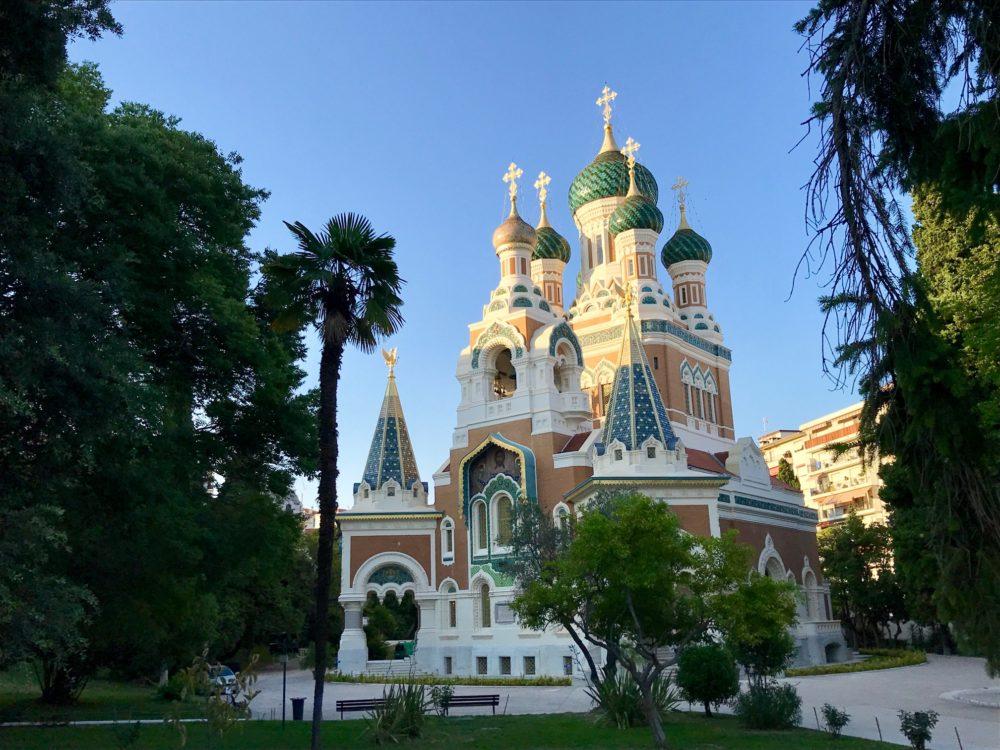 Russische kerk Nice France