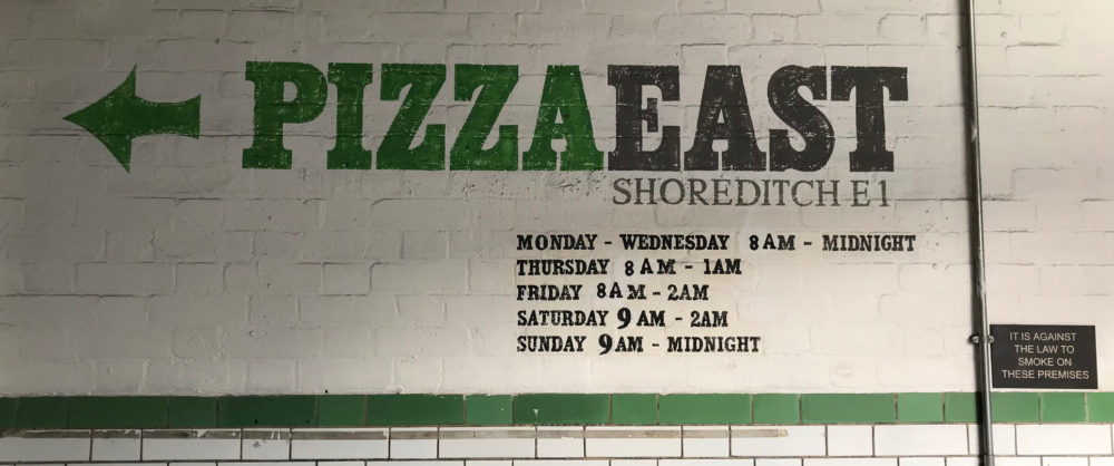 Pizza East Shoreditch London