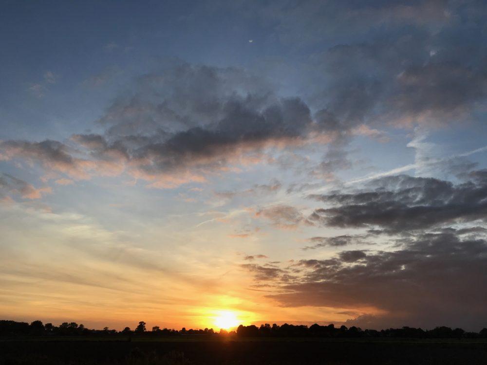 Sunset Groningen