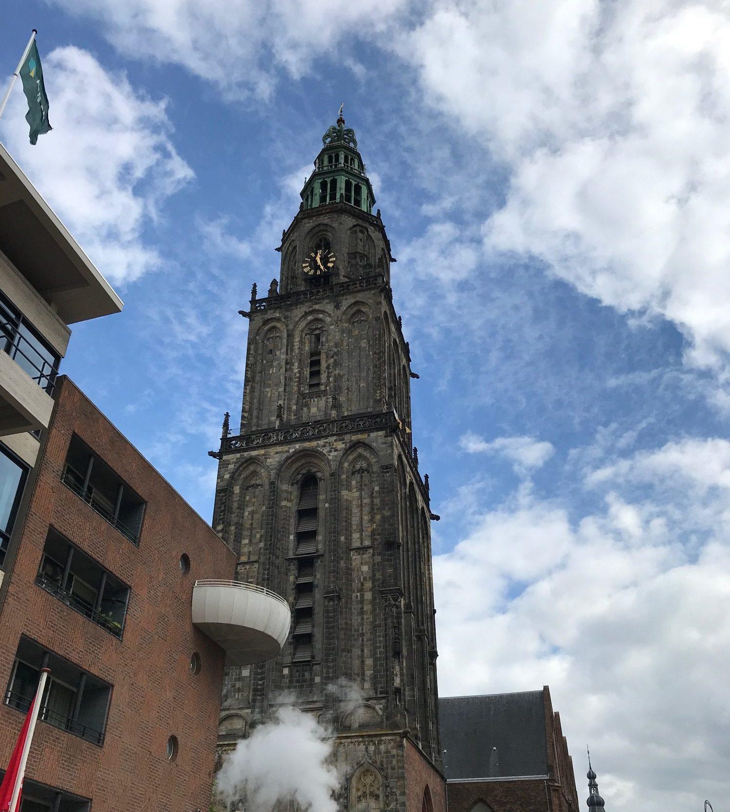 Martinitoren Grote Markt Groningen