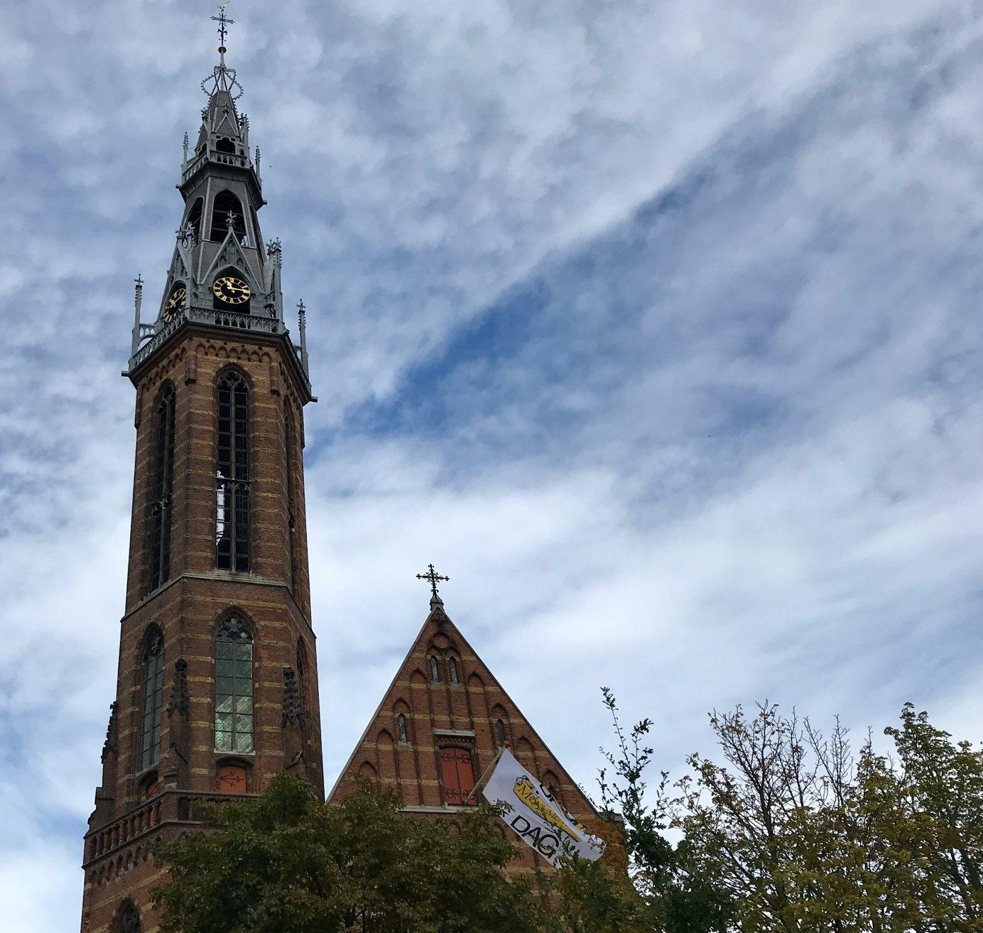 Fietsen in Groningen Sint-Jozefkathedraal